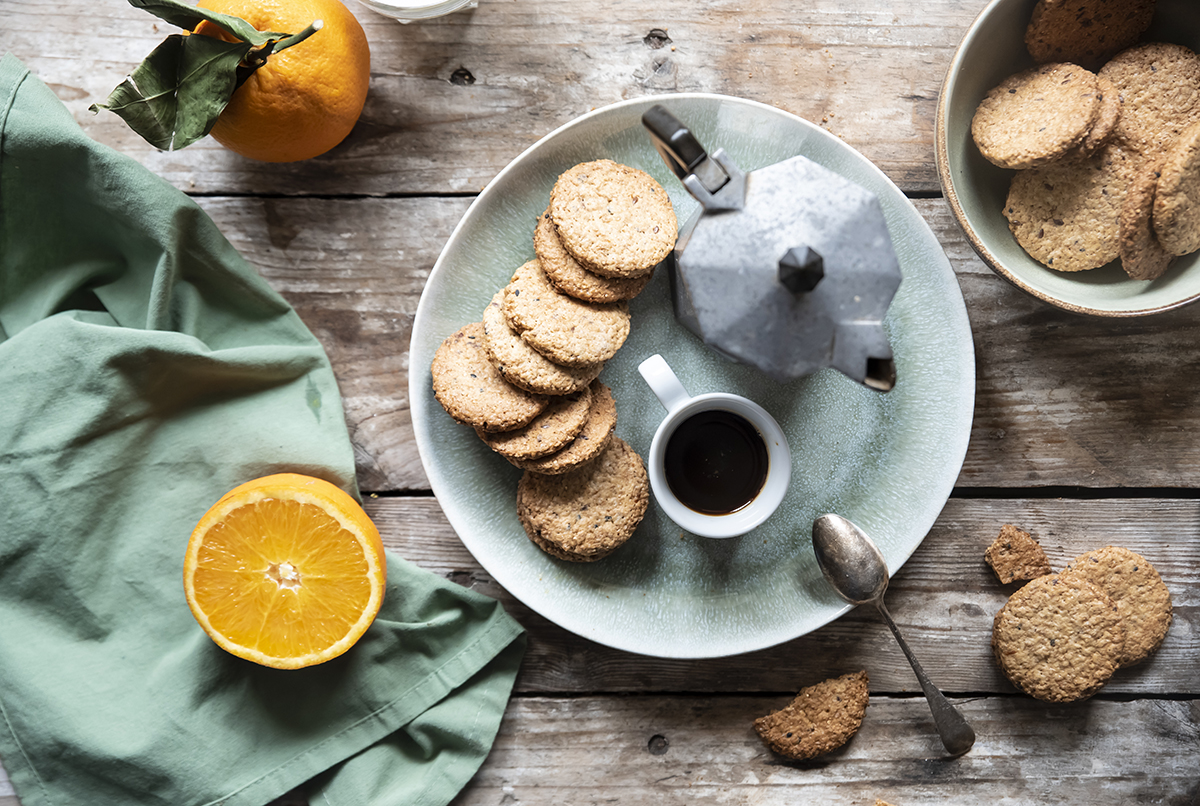 Ricette colazione - biscotti integrali