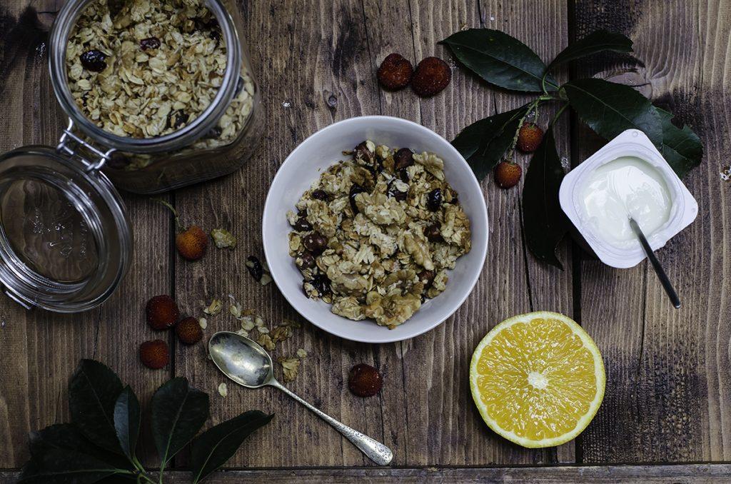 ricette colazione granola croccante