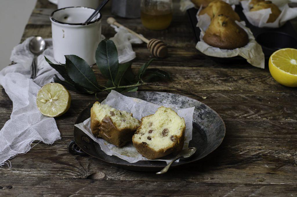 ricette colazione muffin light uvetta