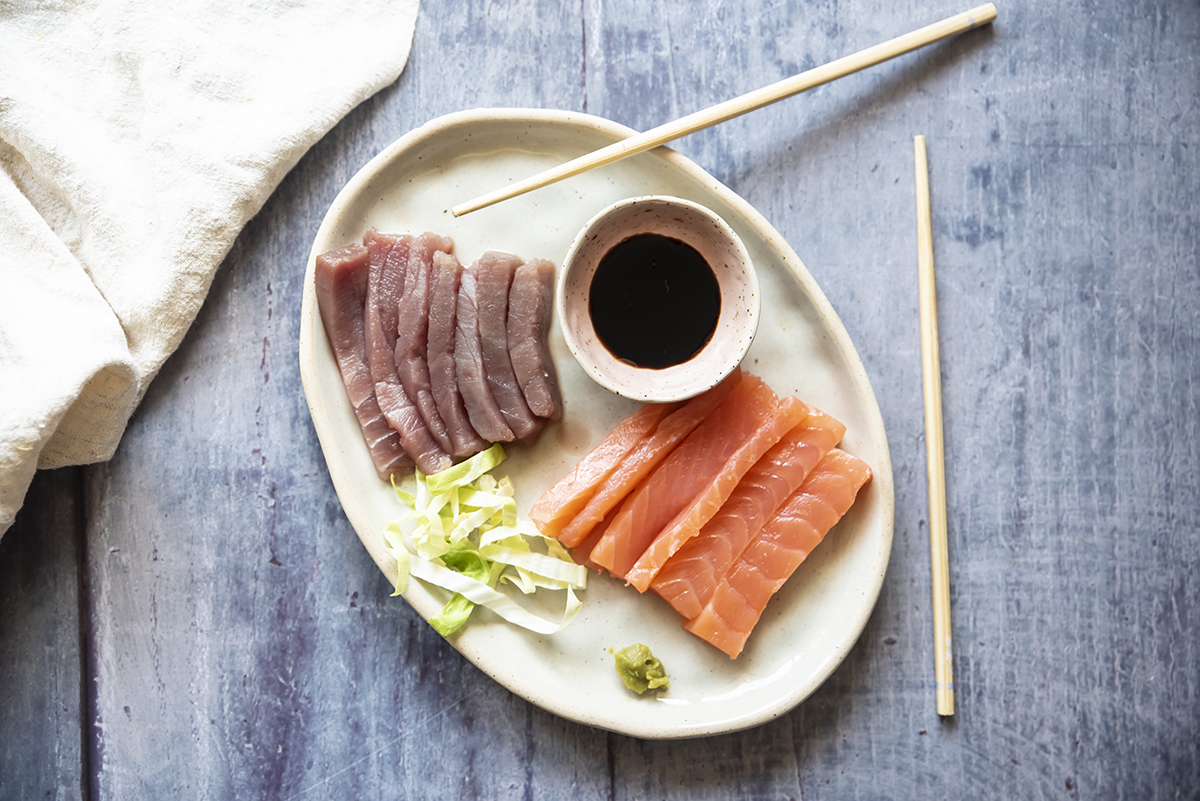 ricette giapponesi: sashimi