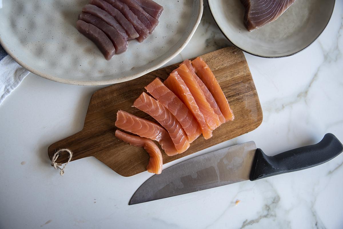 sashimi due