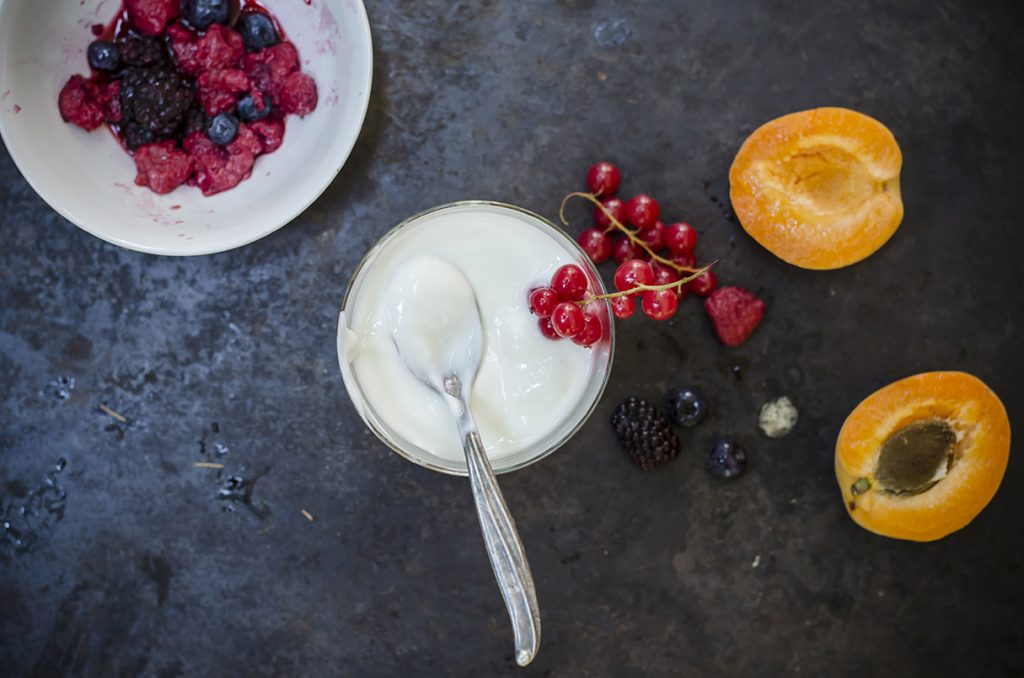 stanchezza primaverile: yogurt fatto in casa