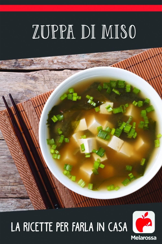Zuppa di miso, la ricetta per farla in casa