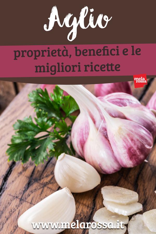 aglio benefici