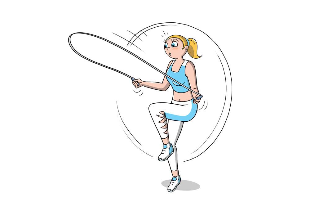 pliometria: saltare la corda