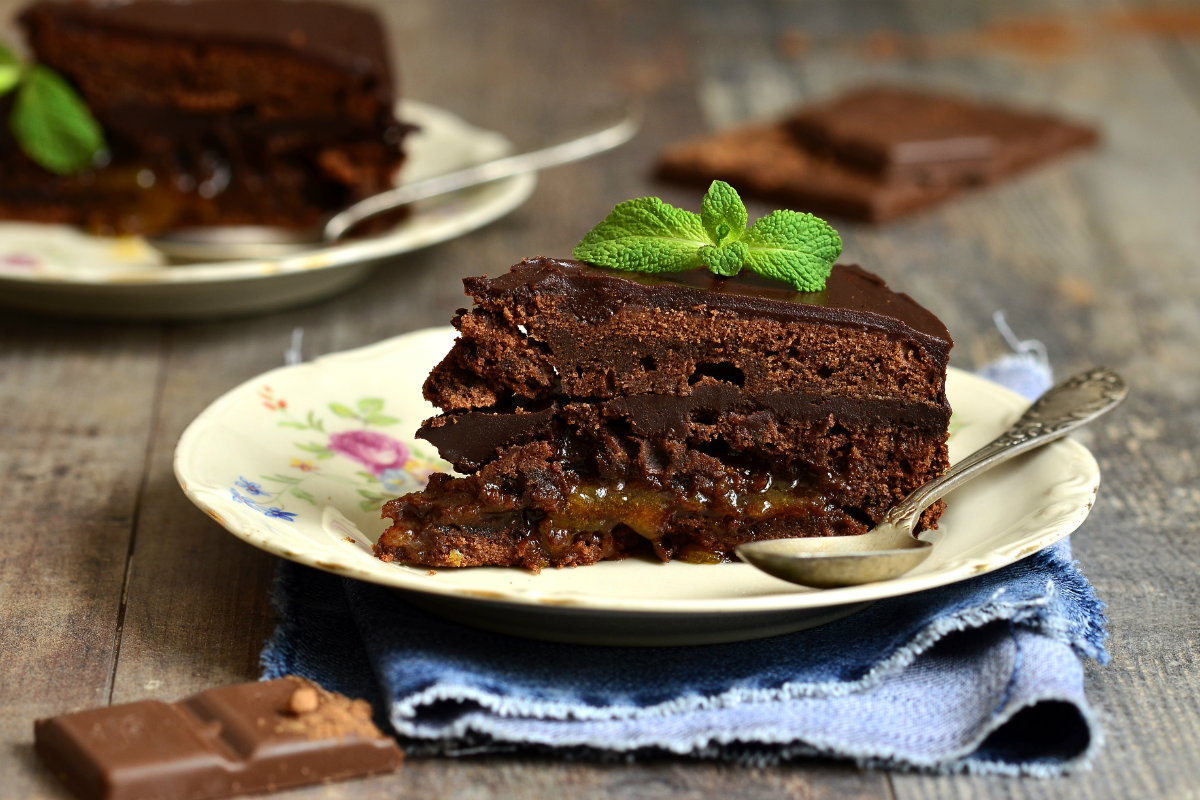 cioccolato, sacher torte