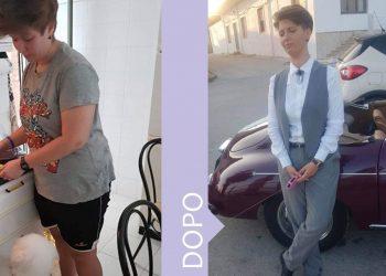 dieta Melarossa: Federica Riggio, - 30 chili