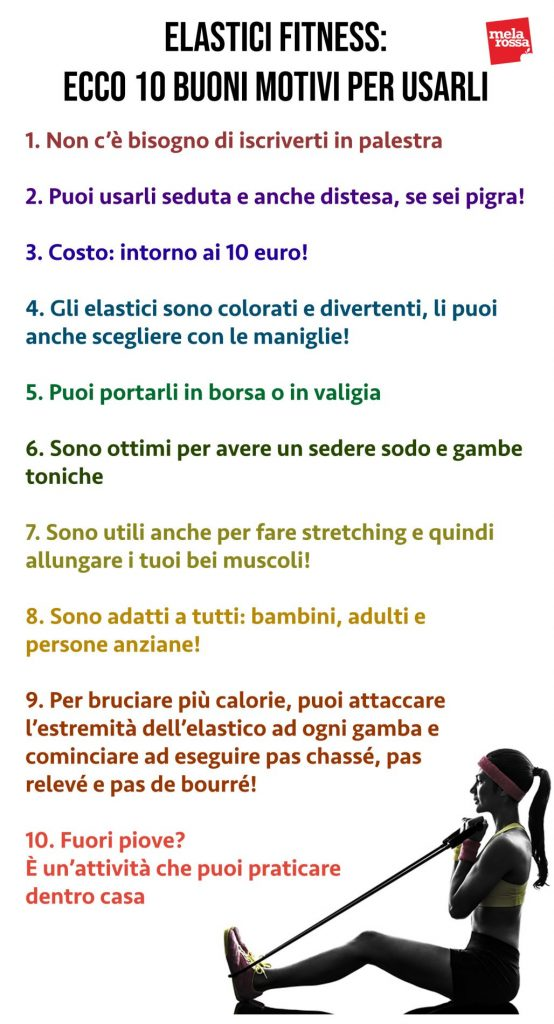 elastici fitness benefici