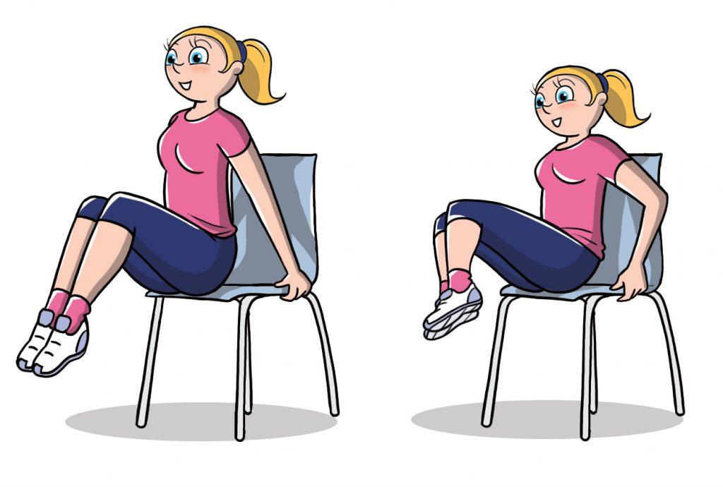 esercizio anticellulite efficace per la pancia