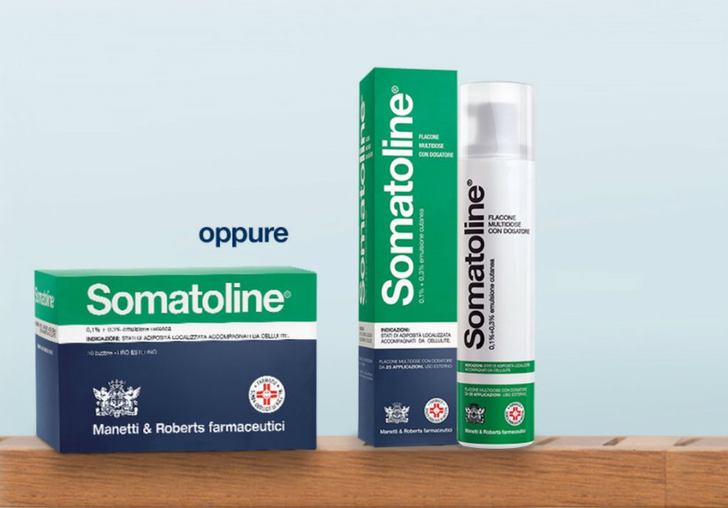 farmaci per la cura della cellulite, somatoline
