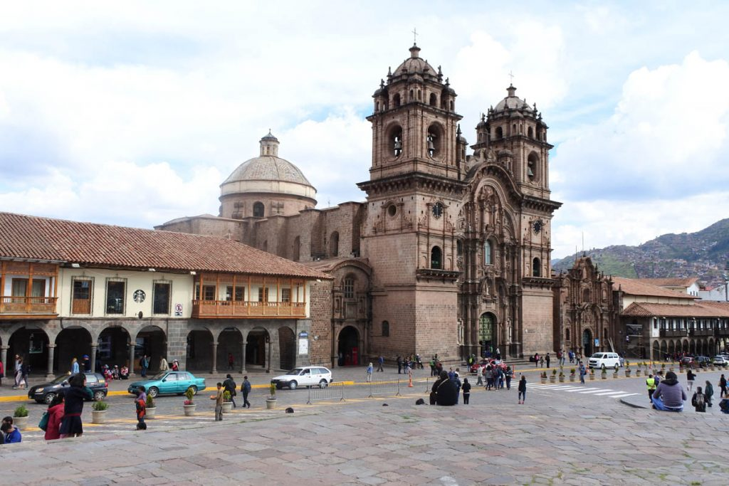 perù cuzco chiesa della compagnia di gesù