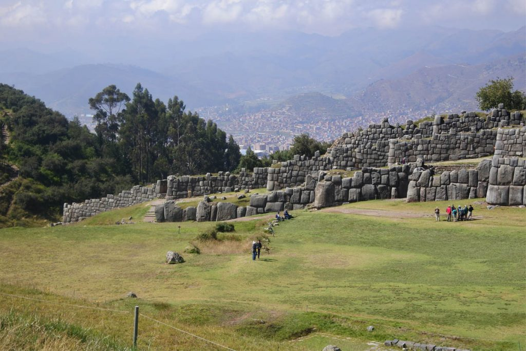 peru cuzco sito archeologico inca di Sacsayhuamàn