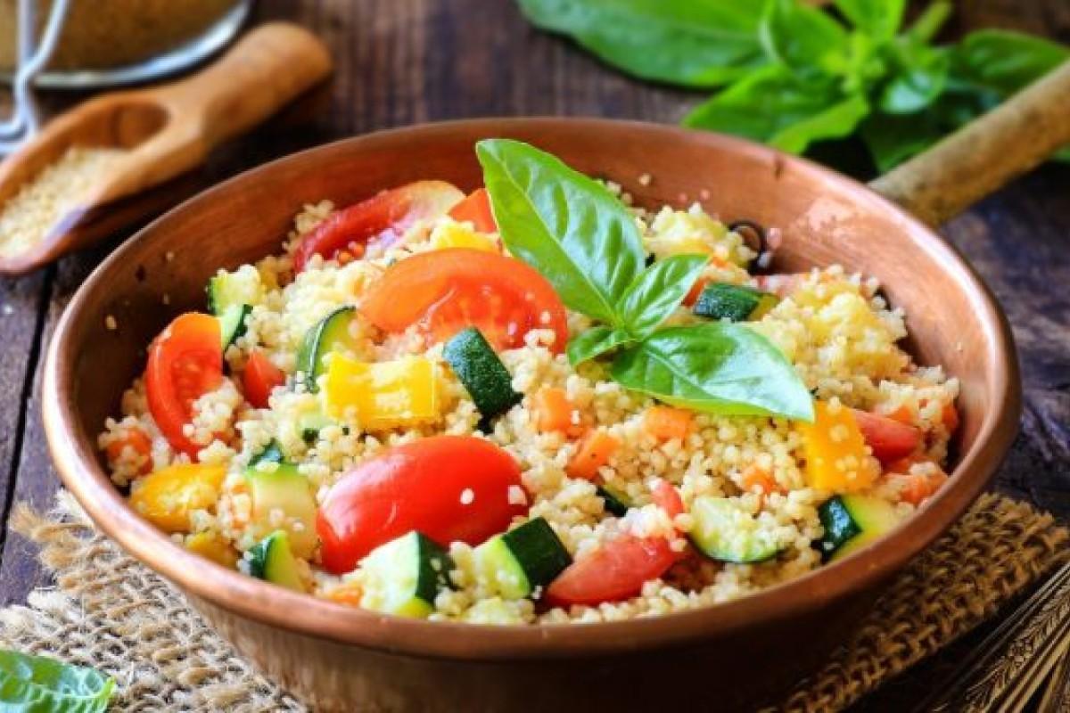 piatti unici: cous cous di verdure