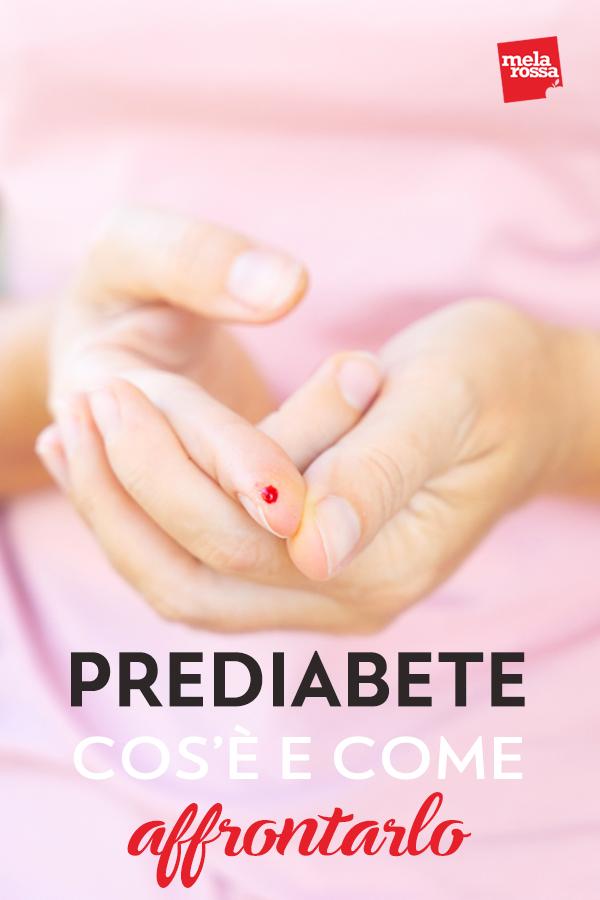 Il prediabete è una condizione che precede il diabete di tipo 2: è caratterizzata da livelli elevati di glucosio nel sangue, superiori alla norma, ma non ancora così elevati da diagnosticare la patologia. Molte persone si trovano in questa condizione ma non sempre sono consapevoli di esserlo. Melarossa.it #dietamelarossa
