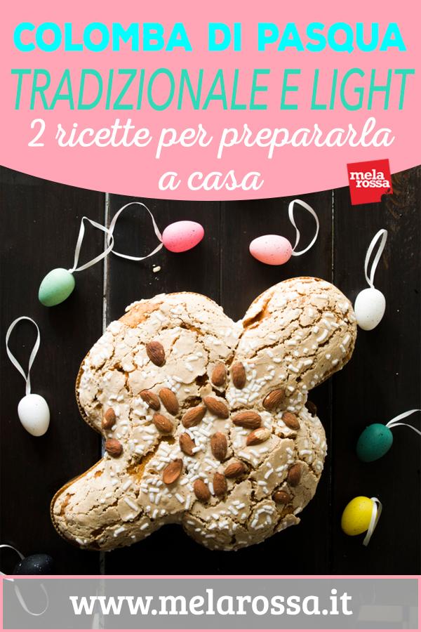 La ricetta colomba di Pasqua, la colomba pasquale fatta in casa, è uno dei più noti dolci della tradizione culinaria italiana. Ha un impasto molto simile a quello del tradizionale panettone di Natale e una storia lunga quasi un secolo - Melarossa.it