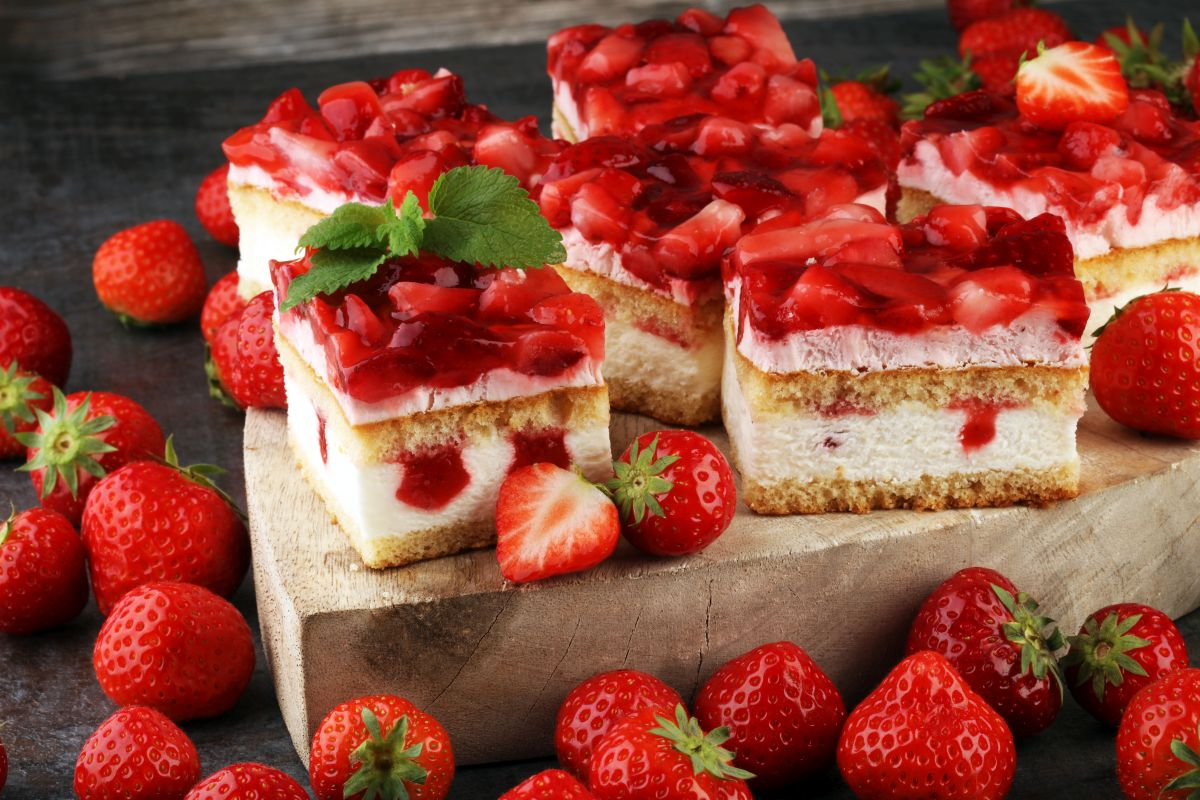 Ricette con le fragole: torta alle fragole