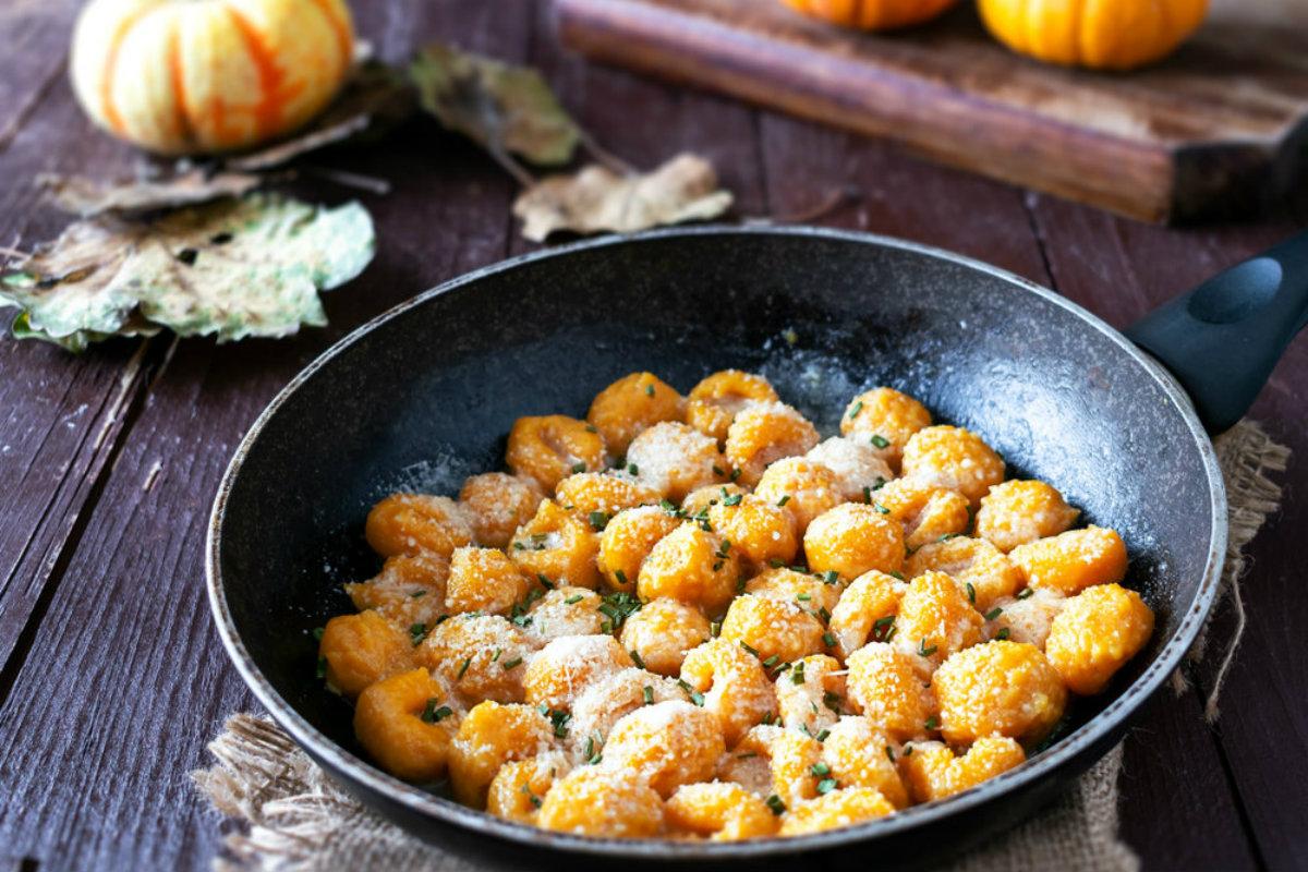 ricette con zucchine, gnocchi zucchine e carote
