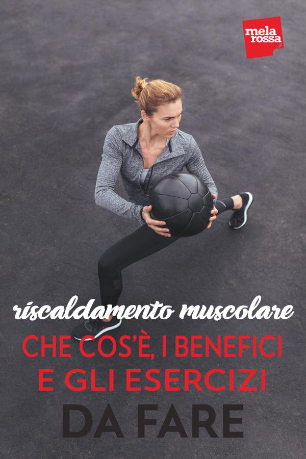 Il riscaldamento muscolareprima di ogni attività fisica è fondamentale, non solo per evitare di farti male ma anche per preparare il corpo e la mente allo sforzo - Melarossa #dietamelarossa