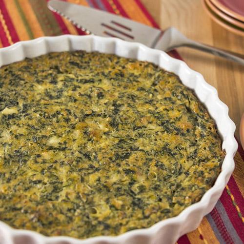 Sformato di quinoa con ricotta e agretti ricetta