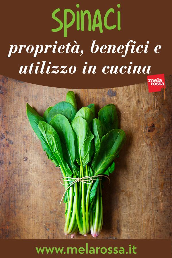 spinaci: benefici e proprietà