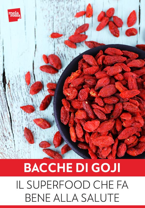 Le bacche di Goji si sono conquistate una buona fetta di mercato attirando l'attenzione di scienziati e consumatori per i loro preziosi nutrienti. Melarossa.it #dietamelarossa