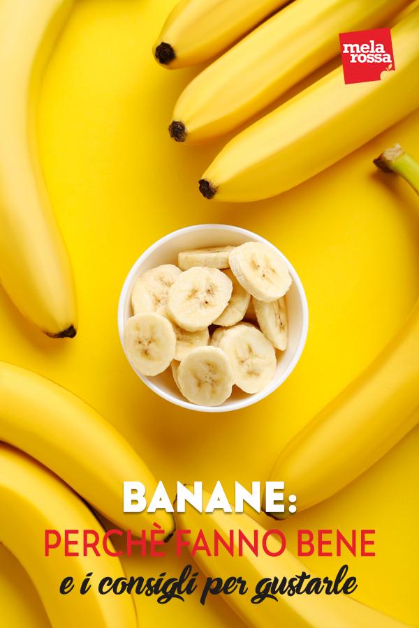 banana benefici proprietà consigli uso in cucina