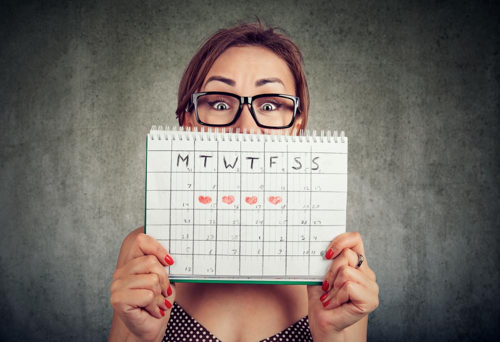 Ciclo mestruale e fertilità: il calendario