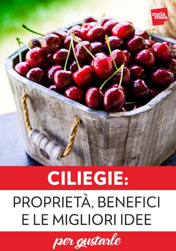 ciliegie: proprietà e benefici