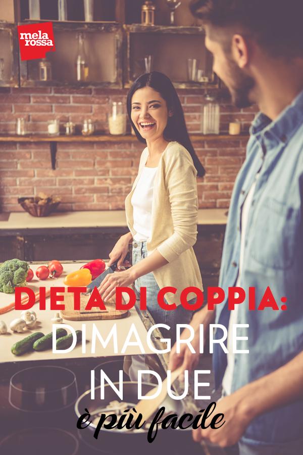 dieta di coppia: come fare a dimagrire in due