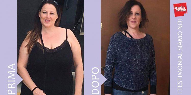 Simona: - 23 chili con la dieta Melarossa