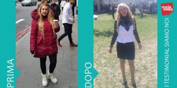 Dieta Melarossa: Valentina ha perso 15 chili.