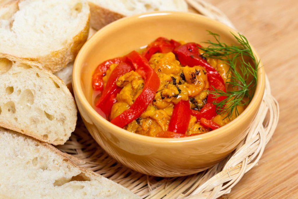 dieta per ipertensione peperonata cipolle