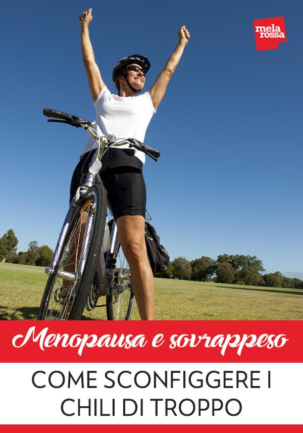 Con l'arrivo della menopausa e la scomparsa del ciclo, il corpo femminile subisce dei cambiamenti molto importanti: la minor produzione di estrogeni si riflette sul tuo corpo e sul tuo umore. Melarossa.it #dietamelarossa