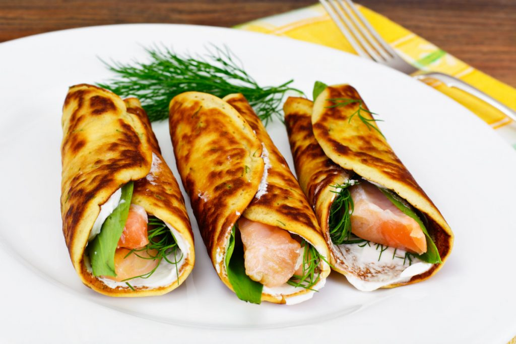 pancake salati
