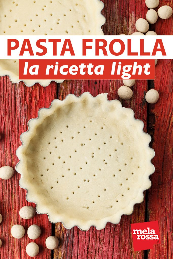 pasta frolla light: ricetta