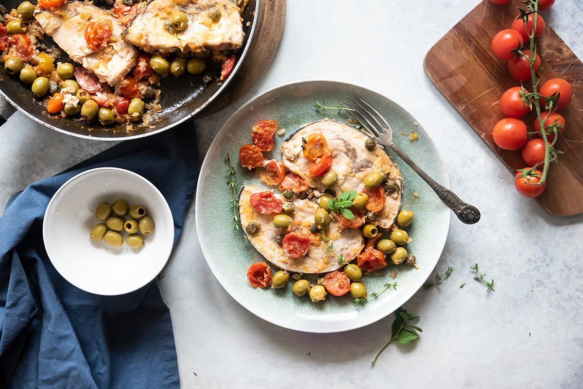 origano: pesce spada alla siciliana