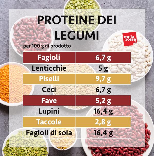 guida sulle proteine: le proteine dei legumi