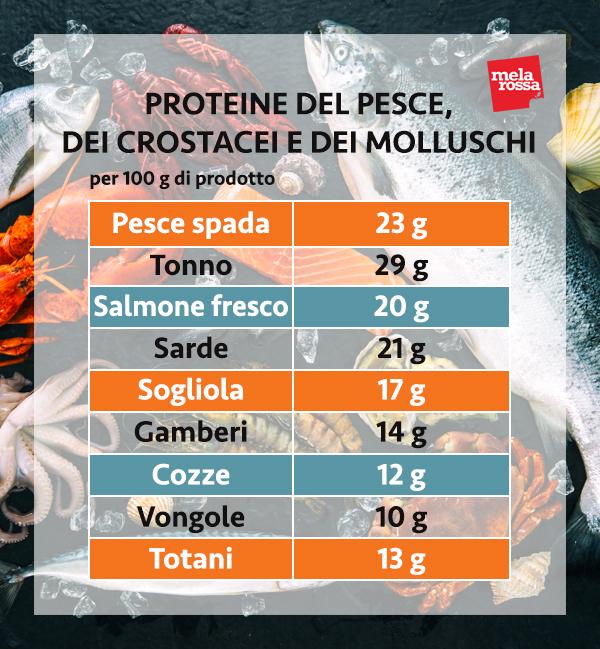 guida sulle proteine: le proteine del pesce