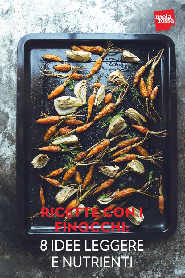 Le ricette con finocchi sono ideali per depurarsi e combattere il colesterolo. Fresche, sane e leggere, sono ricette adatte alla cucina di tutti i giorni, da gustare anche se sei a dieta. Melarossa.it #dietamelarossa
