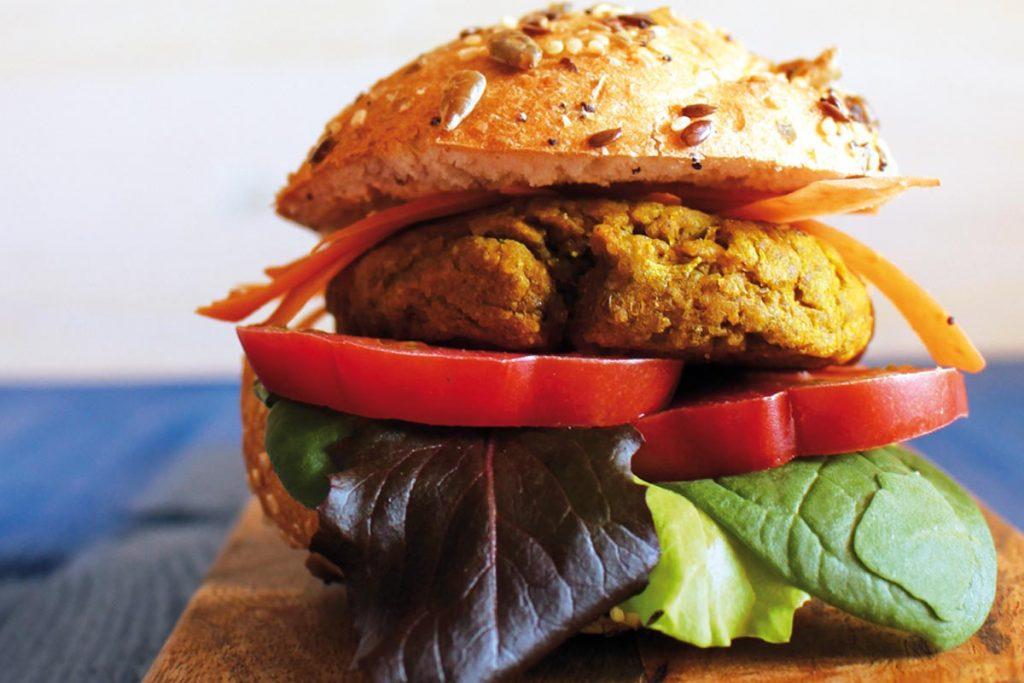 ricette con i ceci: hamburger