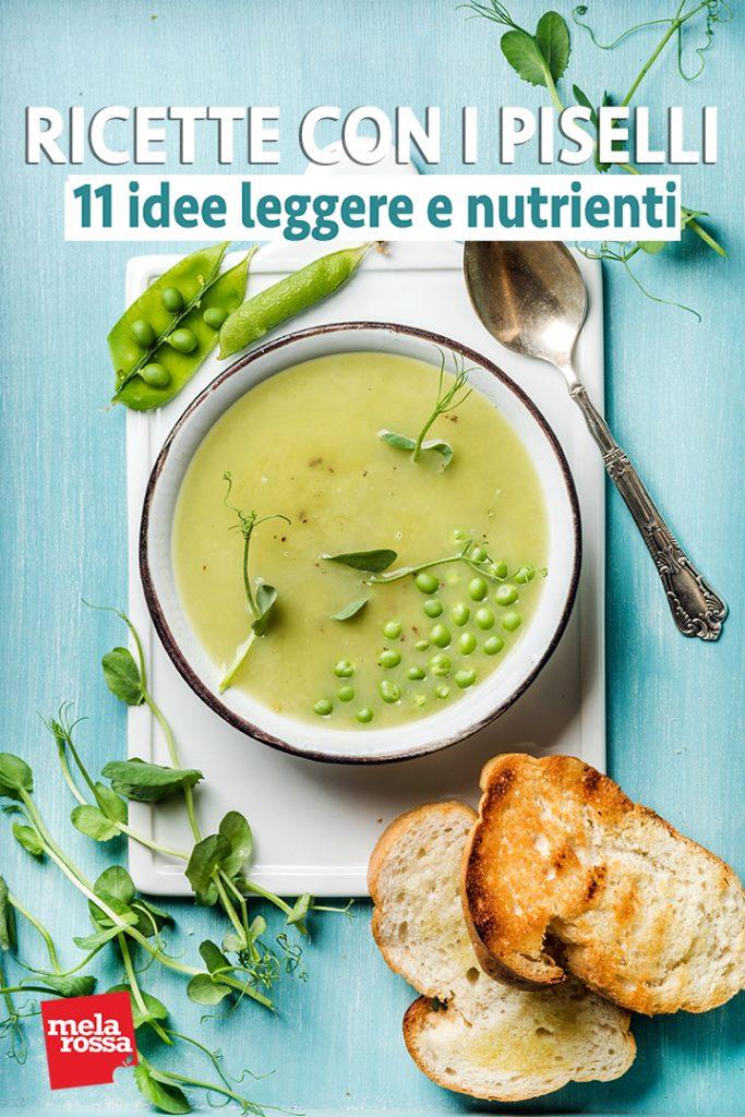 ricette con piselli: 11 idee light
