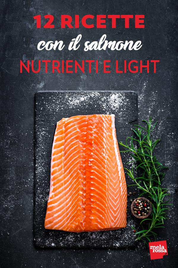 Le ricette con il salmone che si possono preparare sono tante e originali, non è raro trovare questo pesce protagonista di insalate fresche, primi piatti o gustosi secondi. Melarossa.it #dietamelarossa