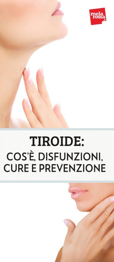 La tiroide è una ghiandola importantissima per la nostra salute perché si comporta come una centralina che regola, attraverso la produzione di ormoni, organi e funzioni fondamentali per il nostro organismo, come il metabolismo, il sistema cardiocircolatorio, l'apparato riproduttivo Melarossa.it #dietamelarossa
