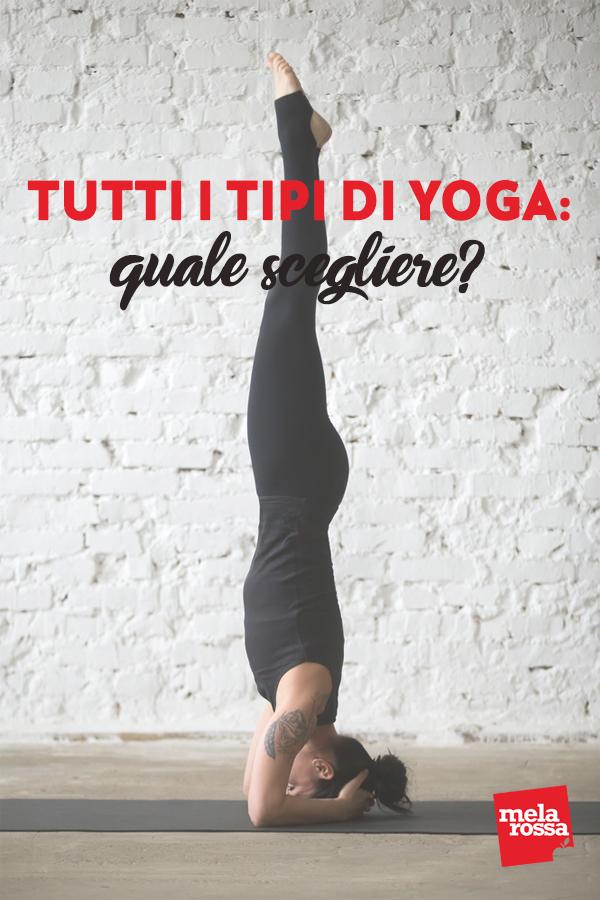 vari tipi di yoga