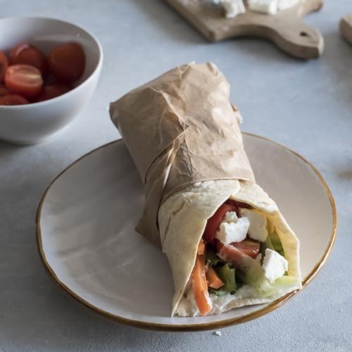 veggie wrap greco