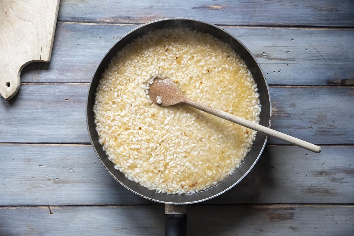 torta di riso gratinata brodo