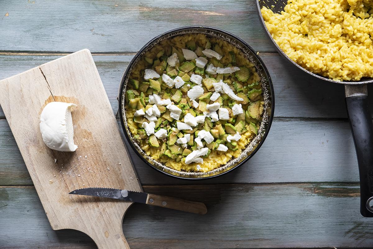 torta di riso gratinata zucchine