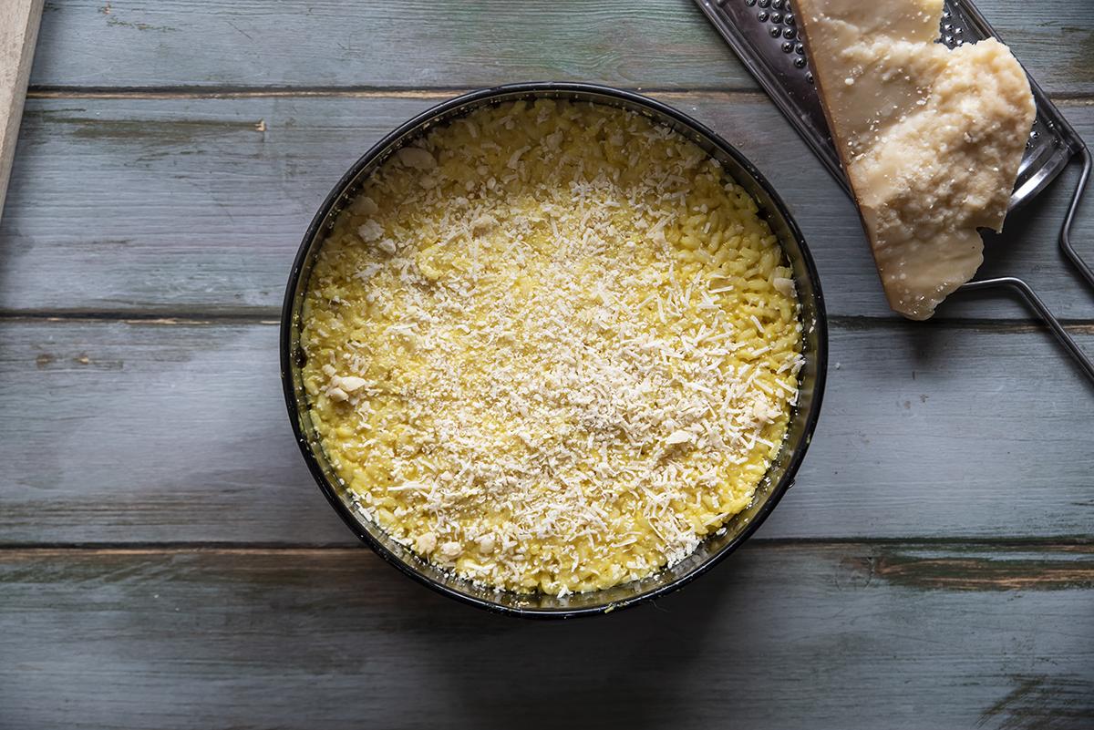 torta di riso gratinata sformato