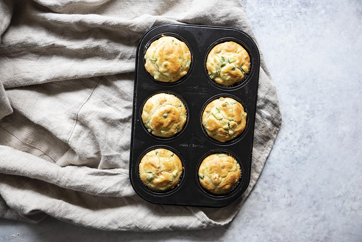 muffin di verdure pirottini