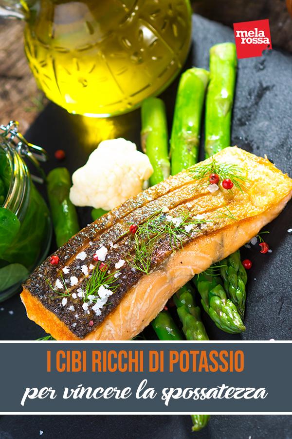 alimenti ricchi di potassio contro spossatezza